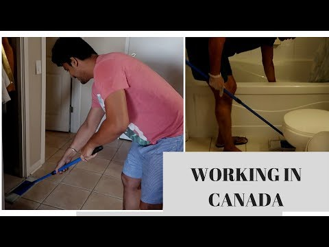 WORKING AS A CLEANER IN CANADA   IRMAN GILL  