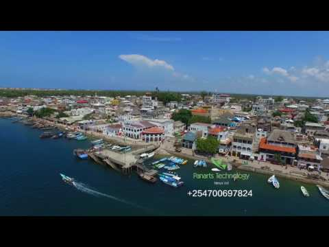 MOMBASA KENYA - BEST AERIAL VIEW