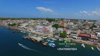 Lamu Old Town, MOMBASA, KENYA - BEST AERIAL VIEW [2017]