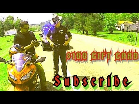 Motorcycle Vs Cops $100 Gift Card Giveaway