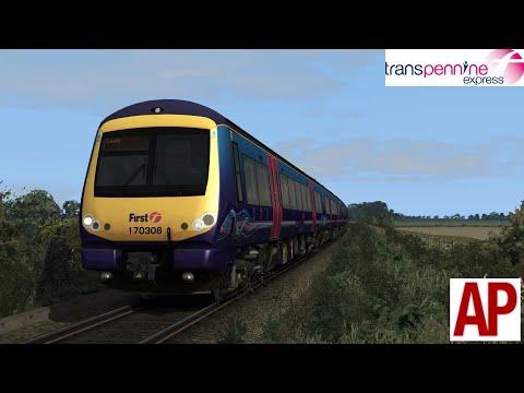 TS 2018 AP Class 170 Transpennine express Blackpool North - Preston  