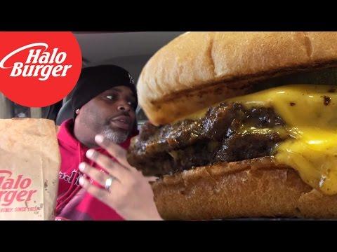 HALO BURGERS In Flint Michigan Taste Like..........