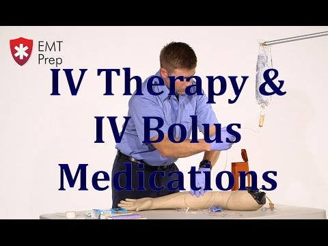 AEMT I99 Paramedic - Advanced Skills: IV Therapy/IV Bolus Medications - EMTprep.com
