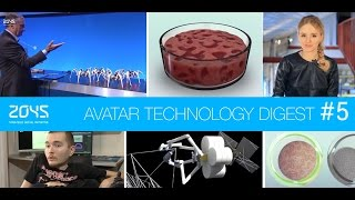 #5 ATD / Head transplantation, Space spider robots, 3D bioprinting of tissues etc.