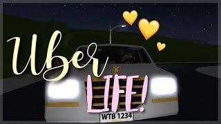 UBER LIFE!   WELCOME TO BLOXBURG   ROBLOX  