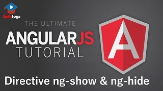 AngularJS Video Tutorials - How to use ng Show and ng Hide Angular Directives