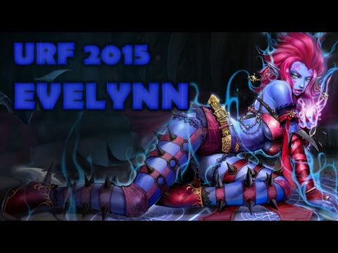 URF Evelynn Full Gameplay 2015 - Ultra Rapid Fire League of Legends