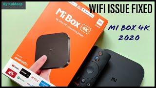 Wifi Problem Fix on MI BOX 4K …
