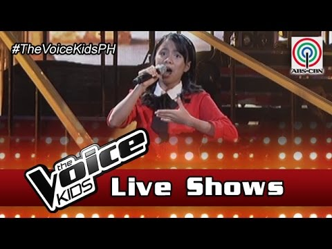 """The Voice Kids Philippines 2016 Live Semi-Finals: """"Only Hope"""" by Angel"""