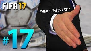 FIFA 17 Yeni Kariyer #17: SİNİRLİ TRANSFER DÖNEMİ