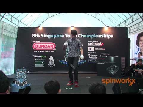 Singapore Yo-Yo Championships 2010 Pro 1A 1st - Ch...