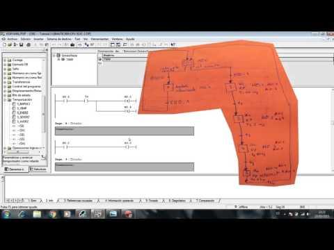 Simatic Step 7 ejercicio semaforo resuelto - Grafcet + Kop