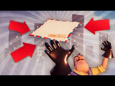 THE NEIGHBORS SECRET LETTER?!! (Hello Neighbor Secrets / Hello Neighbor Alpha 4)