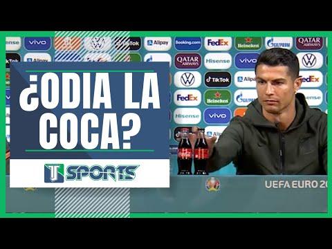 Polémica de Cristiano Ronaldo a cuenta de la Coca-Cola