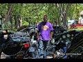Hawg Dawgs motorcyclists destributing water in Flint Michigan