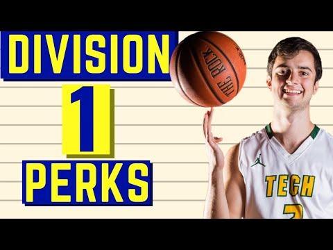 Division 1 Basketball Perks