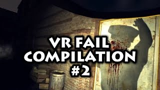 VR Fail Compilation #2 (Random moments and funny fails)