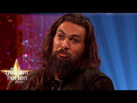 Jason Momoa Hasnt Seen Aquaman Yet  The Graham Norton Show