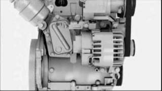 two cylinder engine of the fiat 500 twinair 85 hp