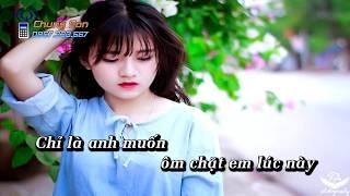 [KARAOKE HD] Để Cho Anh Khóc - Beat Tone Nam