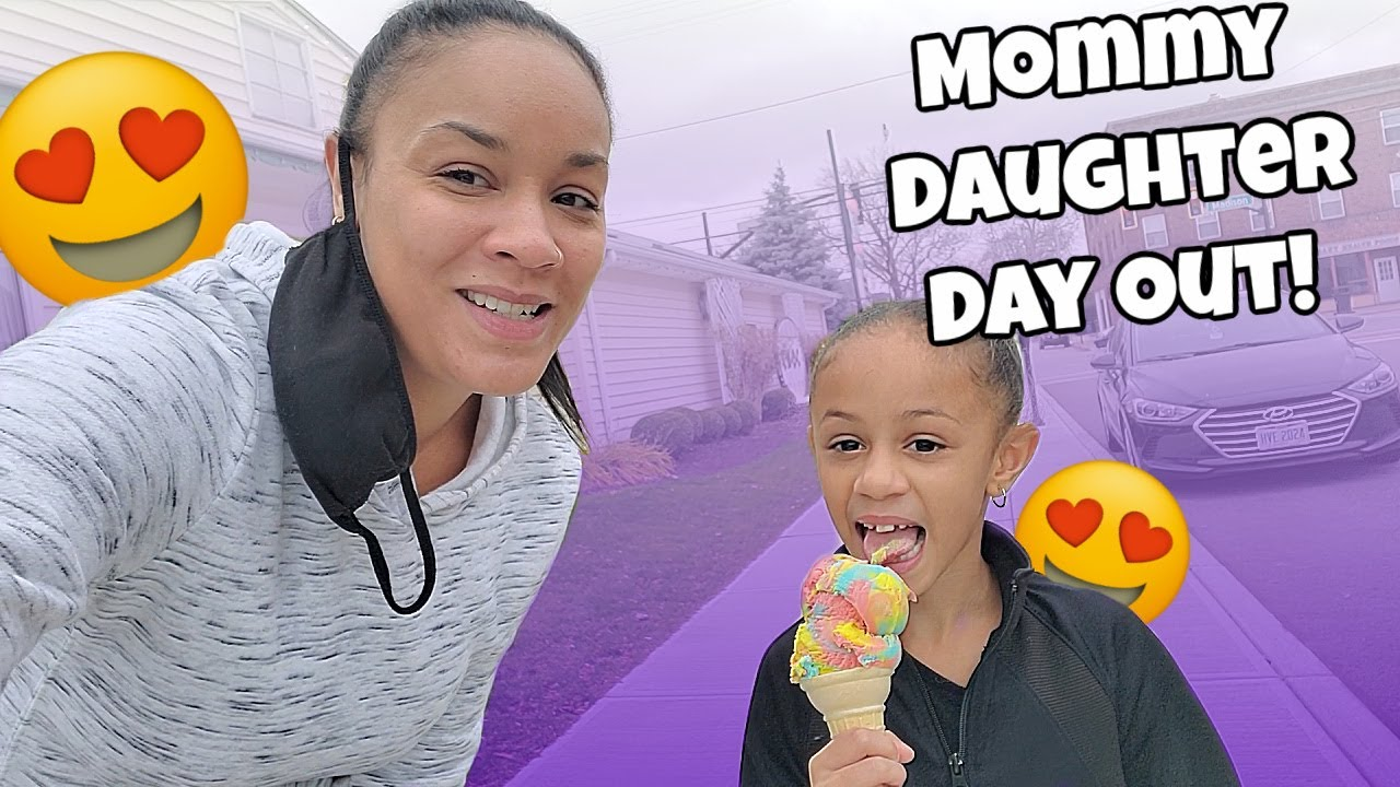 Mom and Daughter Day Out ❤️| Imani's Family Fun World