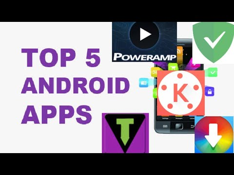 Top 5 Latest Cracked Apps(Mod apk) 2019 #kinemaster #poweramp #torrentvilla #Appvn