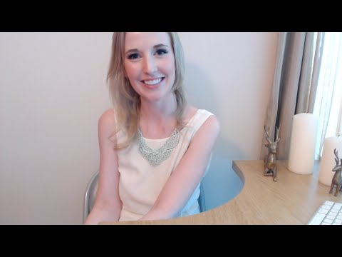 ASMR Hotel Check-In Roleplay with Typing, Writing, and Paper Sounds