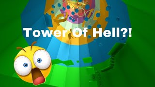 The Tower Of Hell...| Playing Roblox Obbies!