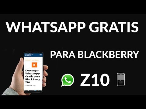 Descargar WhatsApp Gratis para BlackBerry Z10