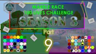 Marble Race - 100 Lives! Season 3 Part 9