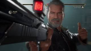 Mortal Kombat 11 Arcade Mode The Terminator on The Champion Tower