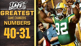 100 Greatest Game Changers: Numbers 40-31 | NFL 100