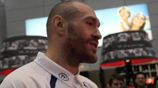 TYSON FURY - 'HAVE I SEEN PEOPLE TAKING DRUGS? NO. & IF I DID I WOULDN'T SAY BECAUSE IM NOT A GRASS'