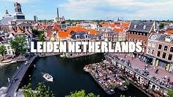 Leiden City Netherlands. Travel to Holland.
