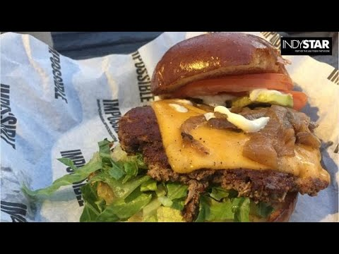 Liz Biro tries the vegetarian Impossible Burger