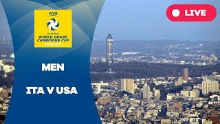 ITA v USA - 2017 Men's World Grand Champions Cup