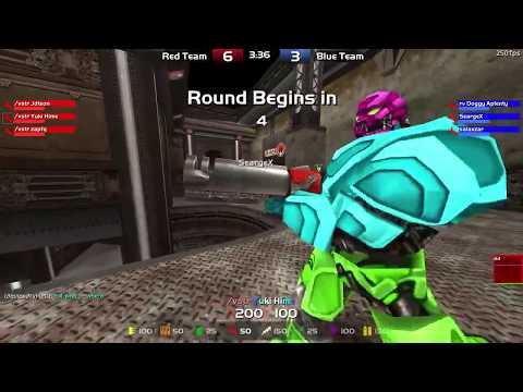 Quake Live Asia - CA - 3v3 Tournament Stream! - Game 1