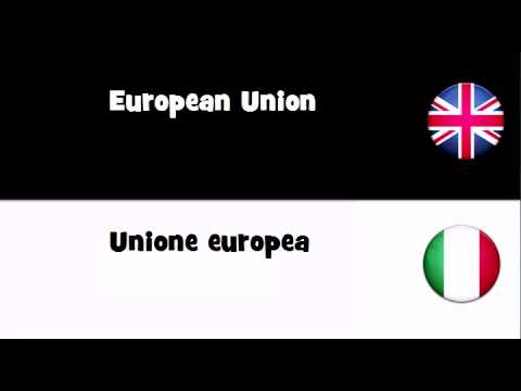 SAY IT IN 20 LANGUAGES = European Union