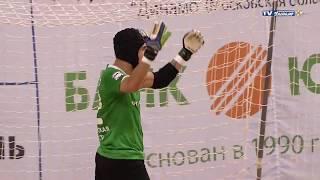 Сейвы вратарей Российской Суперлиги по мини-футболу