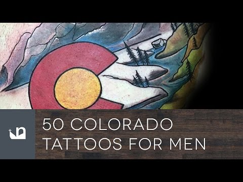 50 Colorado Tattoos For Men