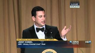 Jimmy Kimmel at the 2012 White House Correspondents' Dinner.