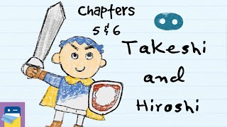 Takeshi and Hiroshi: Chapters 5 & 6 Walkthrough + Apple Arcade iOS Gameplay (by Oink Games)