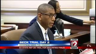 Day 2: Ex-state rep on trial for securities fraud