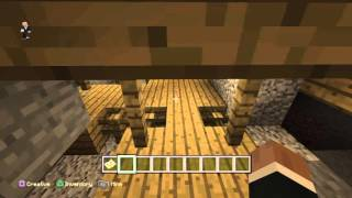 Minecraft xbox one ps4 best seed infinite mineshafts caves