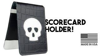Leather Skull Scorecard Holders!
