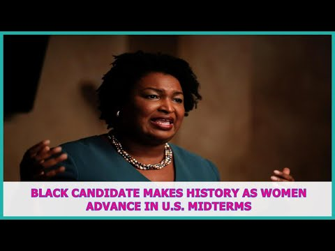 US BREAKING NEWS | Black candidate makes history as women advance in U.S. midterms