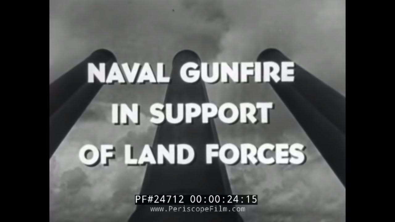 Naval Gun At Okinawa Restricted U.S. Navy