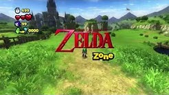 Sonic Lost World - Wii U - The Legend of Zelda Zone
