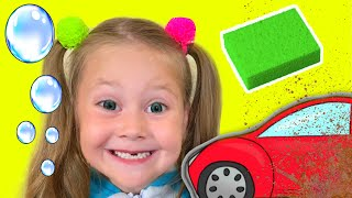 Car Wash Song - Nursery Rhymes and kids songs by Eva Surprise