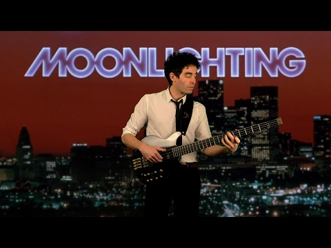 Moonlighting by Al Jarreau (solo bass arrangement) - Karl Clews on bass